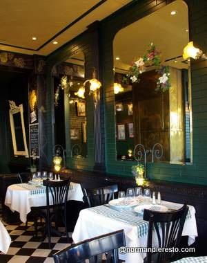 Le Lyonnais : restaurant au Havre, C'est un Bouchon lyonnais en Normandie. La table du chef David Navellier.