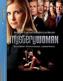 Mystery Woman is the name of a series of two-hour TV movies appearing regularly on the Hallmark Channel since 2003, starring Emmy-nominated actress Kellie Martin as Samantha Kinsey, proprietor of a bookstore specializing in mystery books who gets involved in solving real-life mysteries.