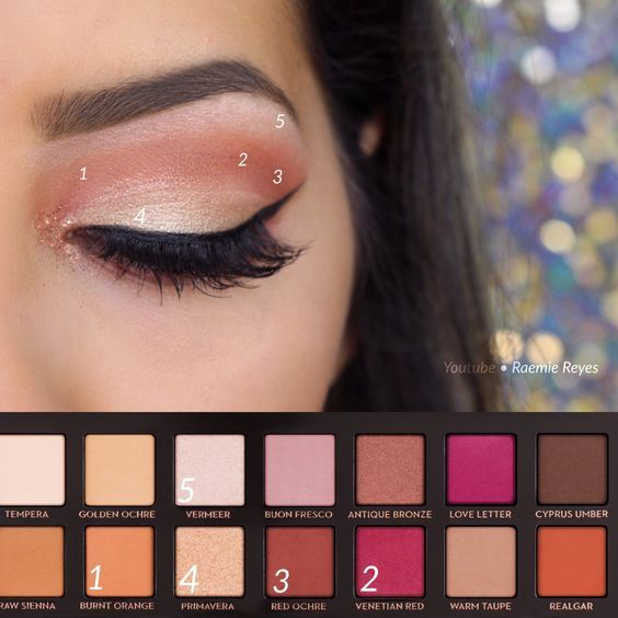 Step by step using the Anastasia Beverly Hills Modern Renaissance Palette ~ watch this tutorial on my channel • Raemie Reyes: