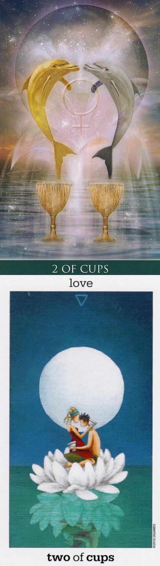 Two of Cups: sex and tension (reverse). Thelema Tarot deck and Sunmoon Tarot deck: tarot thoth, yes no tarot vs a tarot card reading. The best cartomancy divination and magic tricks. #readingtarotcards #tarotcardstips