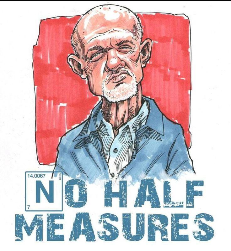 Breaking Bad - Mike: No half measures
