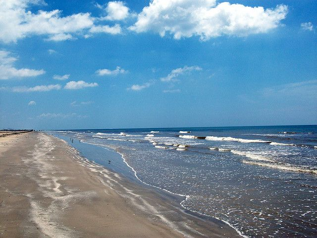 SURFSIDE BEACH -- Located in Brazoria County near the city of Freeport, it's one of the cleanest beaches you'll find within driving distance of Houston. You can also make bonfires here, drive on the beach, and enjoy free parking.