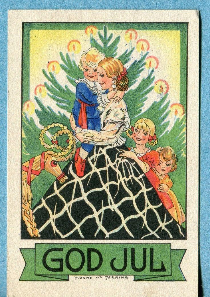 Yvonne Jerring postcard