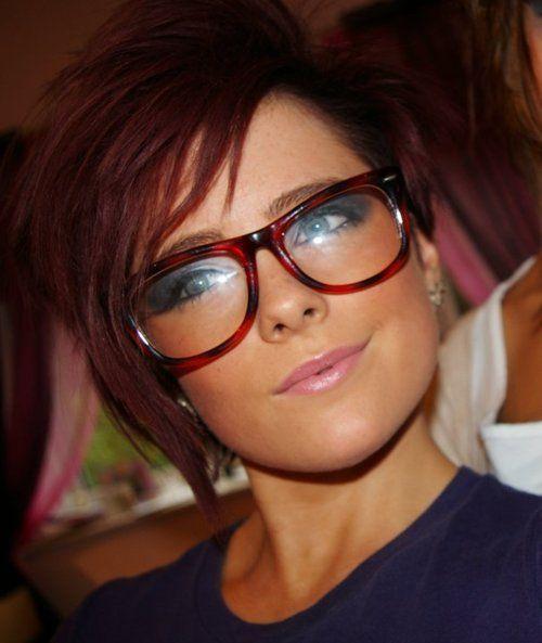 25+ schöne frisuren kurze haare brille ideen auf pinterest