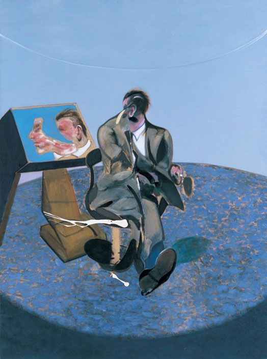 Study of George Dyer in a Mirror (1963) by Francis Bacon,