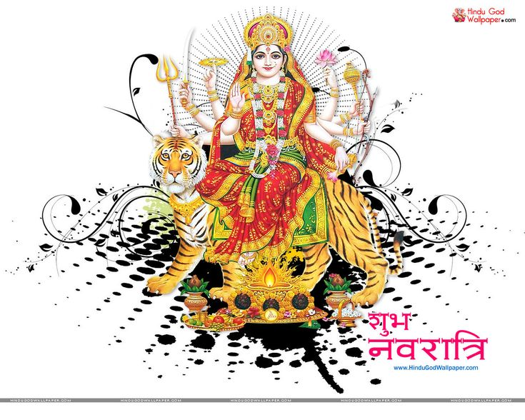Shubh Navratri Wallpaper for Facebook - Free Download