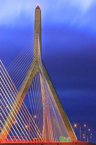 Zakim Bridge – Boston – USA