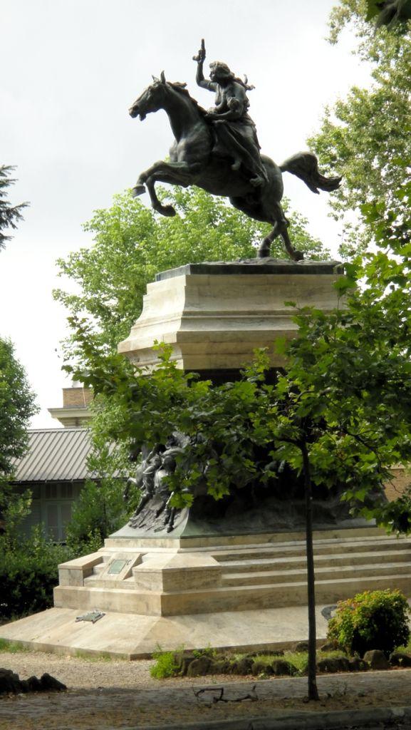 Garibaldis kone, Anita, må ha vært en skikkelig tøff dame