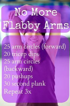 Simple Exercises to Get Rid of Jiggly Arms