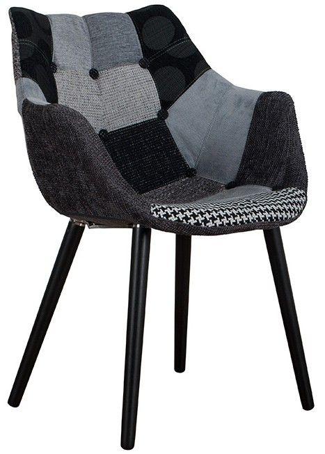 Eleven Loungestol - Grå - Stolen består af en plastskal med polstret betræk og ben i bøg. Denne loungestol skaber blikfang og kan nemt pifte indretningen op. Anvend skalstolen til spisebordet, i stuen eller til kontorbordet.