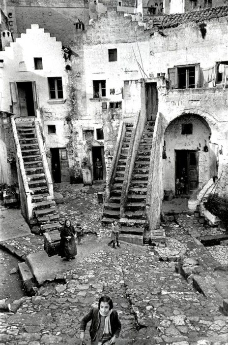 Matera, basilicata, italy, 1951  by Henri Cartier-Bresson