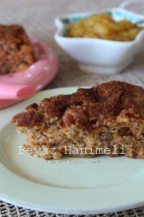 Kıtırlı elmalı kek(Apple cake)