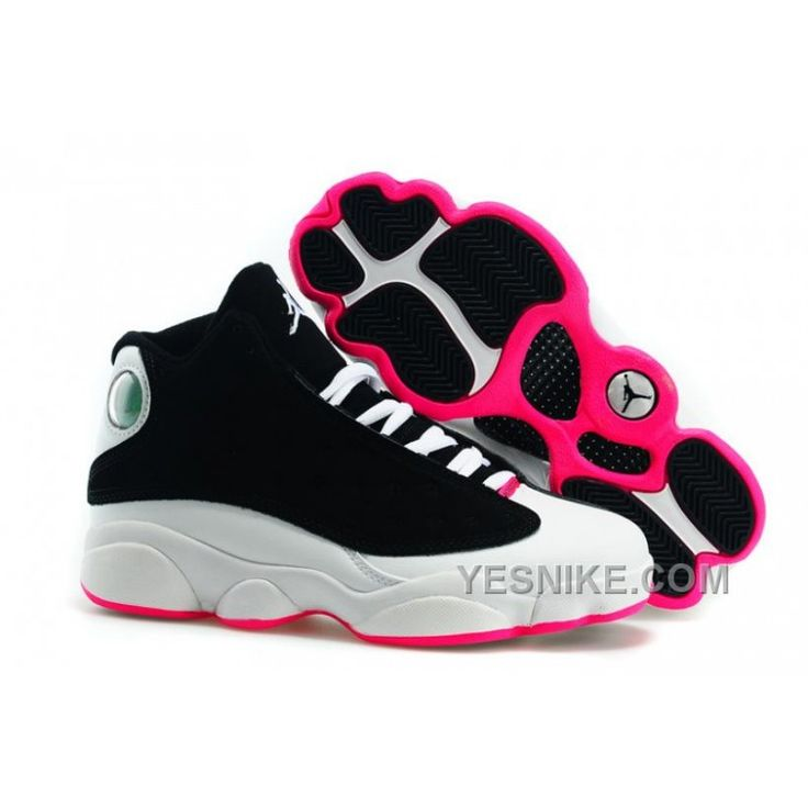 Big Discount! 66% OFF! Italy 2015 New Nike Air Jordan Xiii 13 Womens Shoes Black White And Pink TdXCK, Price: $102.00 - Nike Shoes, Air Jordan shoes | YesNike.com