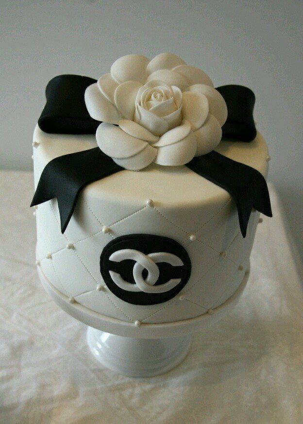 Chanel birthday cake.