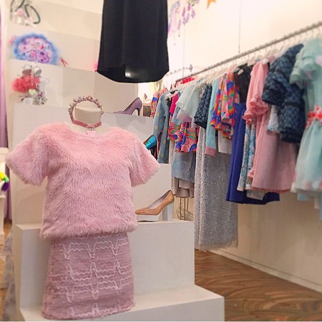Feeling furry in the FURBY tee! At @lady_petrova #wndlnd #ladypetrova #boutique #melbourne #pink #pastel #goth #cute #fauxfur