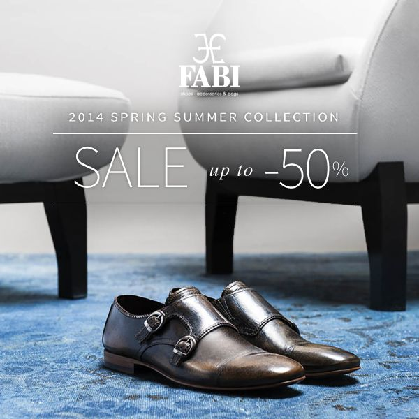 Men: put your best foot forward in the latest reductions of our #shoes collections on http://www.fabiboutique.com/it/home-fabi/