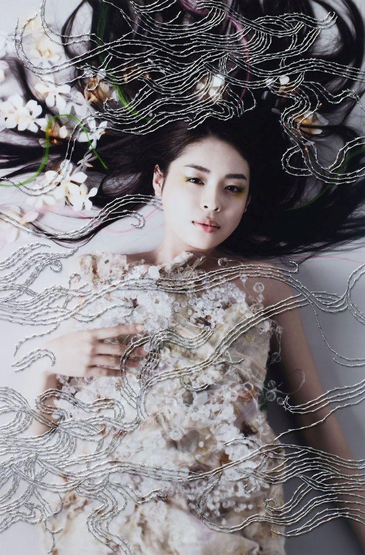 「Re:」2008 - WORKS|清川あさみ|ASAMI KIYOKAWA INC.
