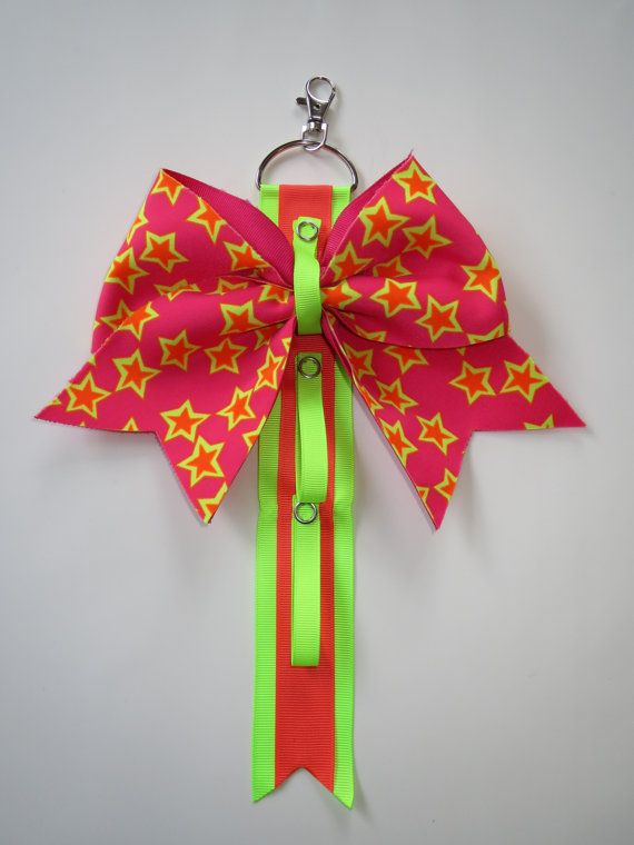 Cheer bow holder for backpacks and cheer by CheerStarAustralia