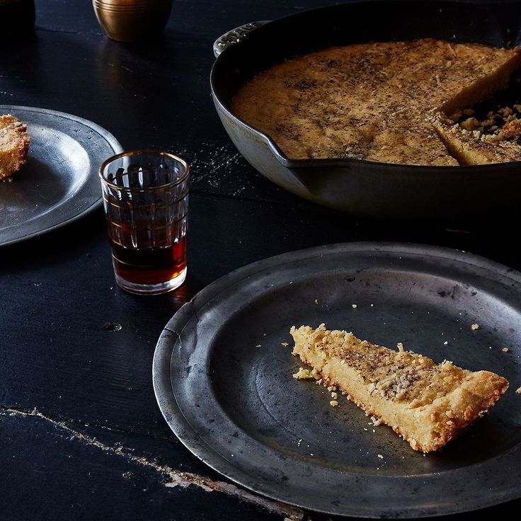 A Genius, Soft-Crisp-Crumbly-Cheesy Skillet Shortbread on Food52