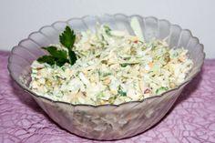Spitzkohl Salat mit Apfel