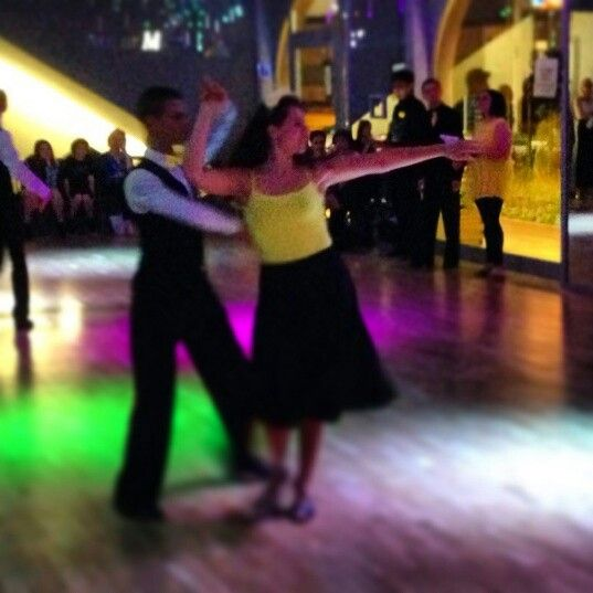 Rumba for the show ... Summer medall ball