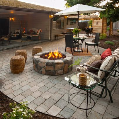 Tired of your rectangular backyard Turn it into a landscape paradise