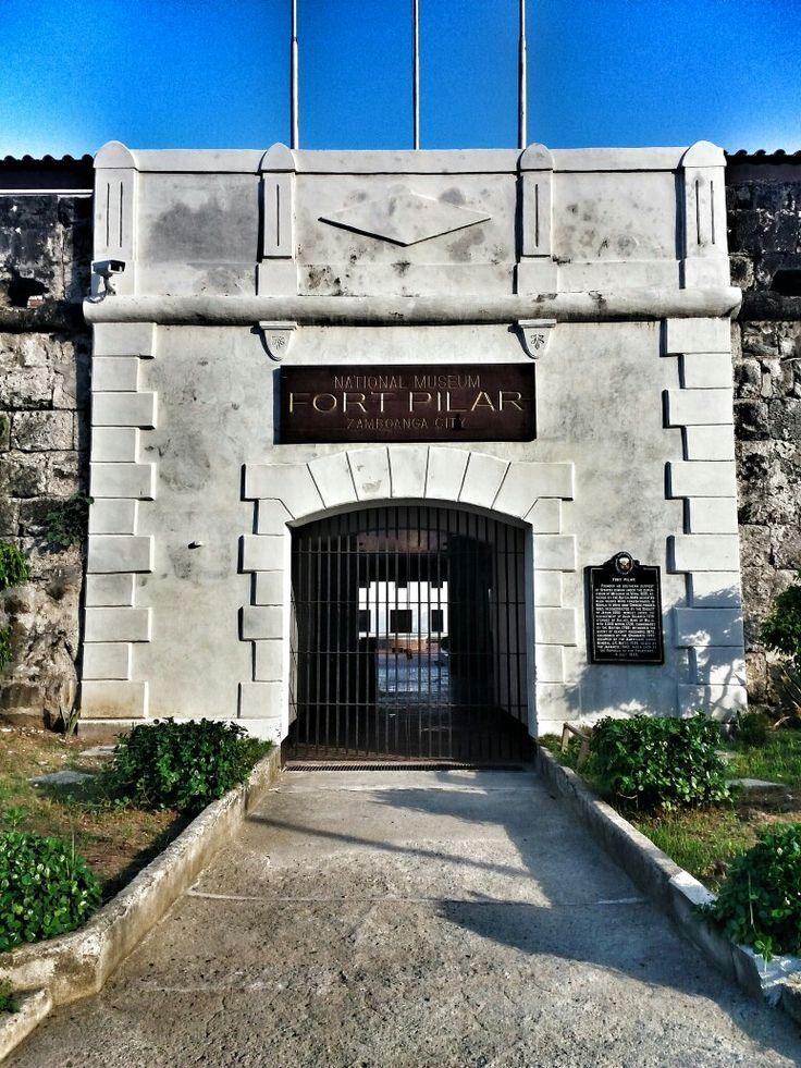 Fort Pilar at Zamboanga City