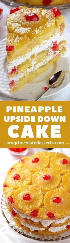 Yummy and easy to make pineapple upside-down cake recipe. One of the best cakes I've ever put to my lips.