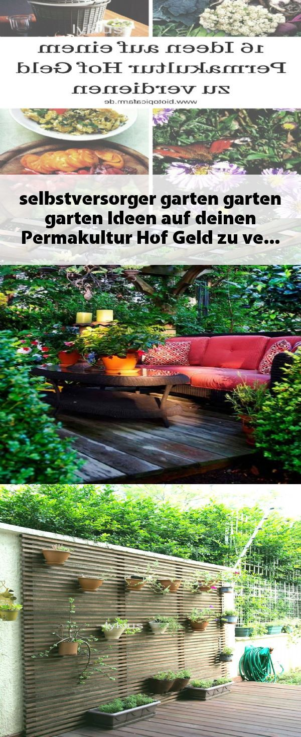 Selbstversorger Garten Garten Garten Ideen Auf Deinen Permakultur Hof Geld Zu Verdienen Und Dir Ein Schnes Leben Als Selbstve Bird Bath Outdoor Outdoor Decor