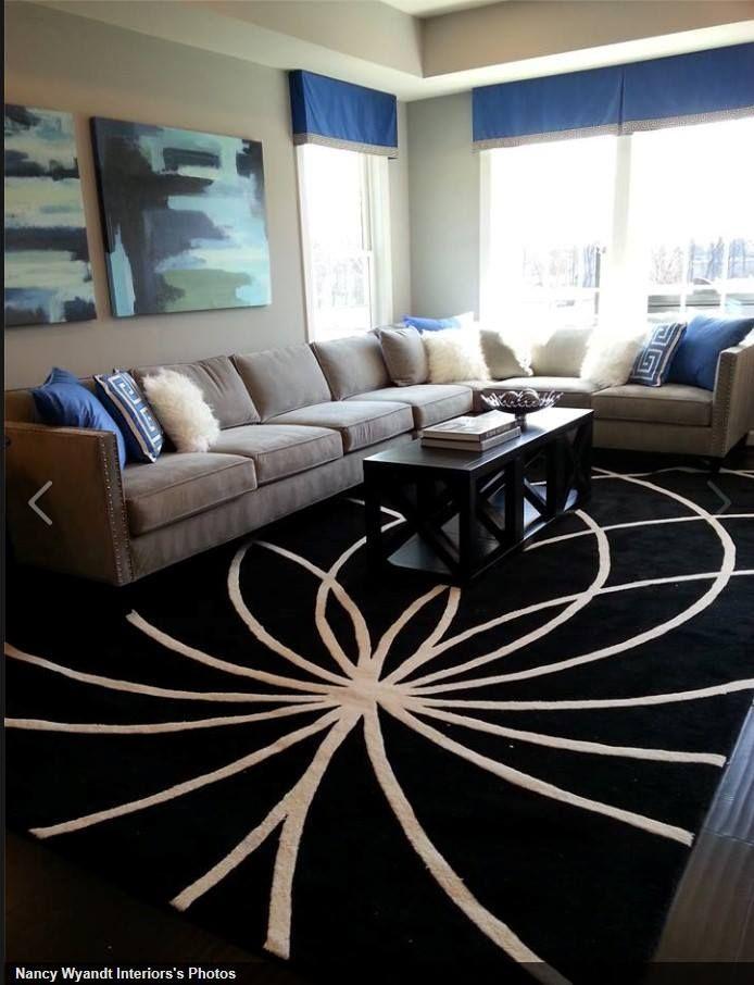 interior design by nancy wyandt of model home interiors surya rug fm 7072 suryaspaces. Black Bedroom Furniture Sets. Home Design Ideas