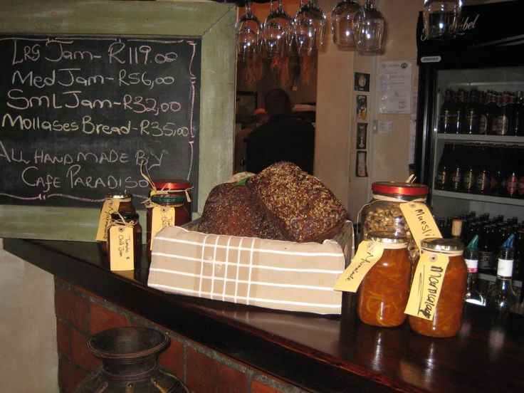 Homemade Tomato & Chilli jam, zesty Orange Marmalade, Strawberry & Vanilla jam and Chocolate & Amaretto spread. All lovingly made and bottled in Paradiso's bakery by our own Chef Daniel and Sous Chef Jo.