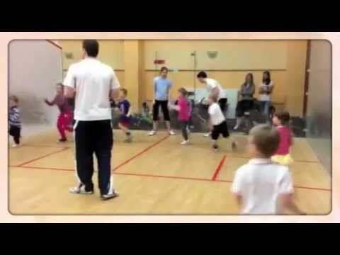 RAKETKY - Hry s míčem a koordinace pohybu