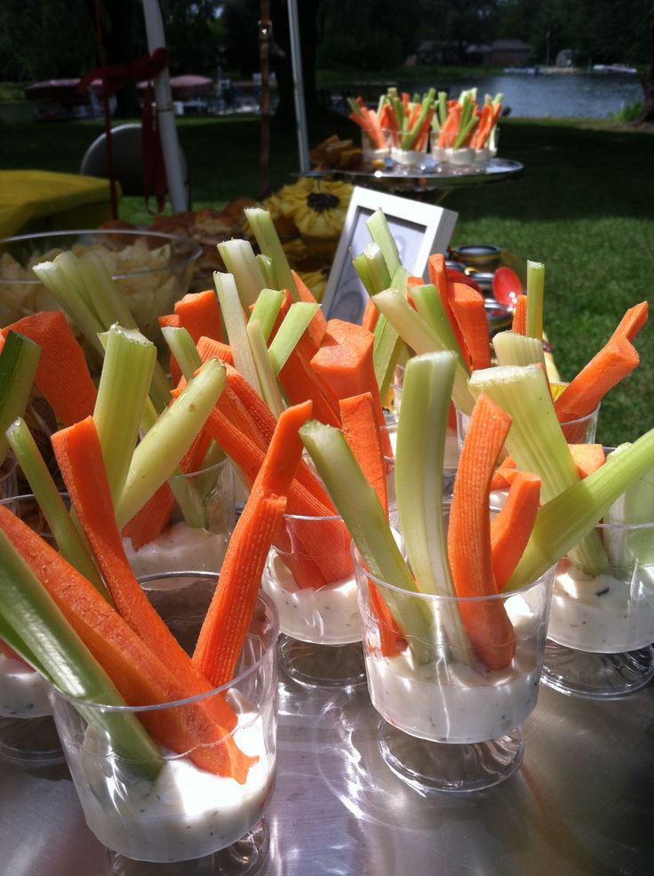 Carrots & Celery finger foods