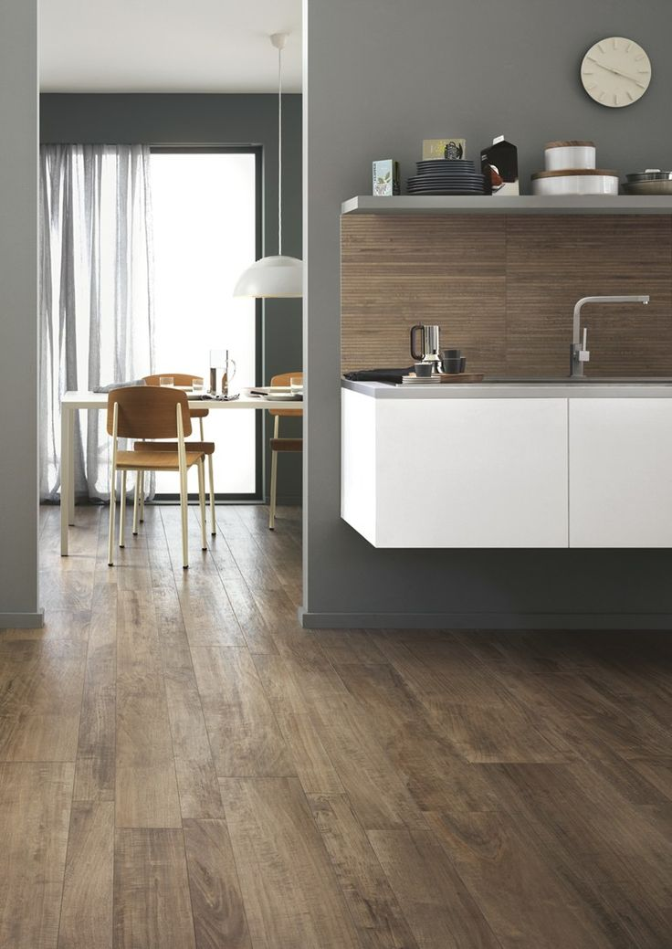 Porcelain stoneware wall/floor tiles with wood effect WOODSTYLE by Ragno - Marazzi Group
