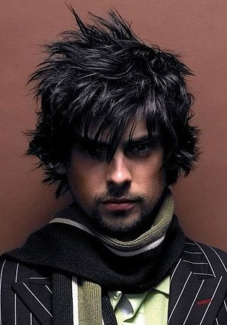shaggy messy hairstyles men