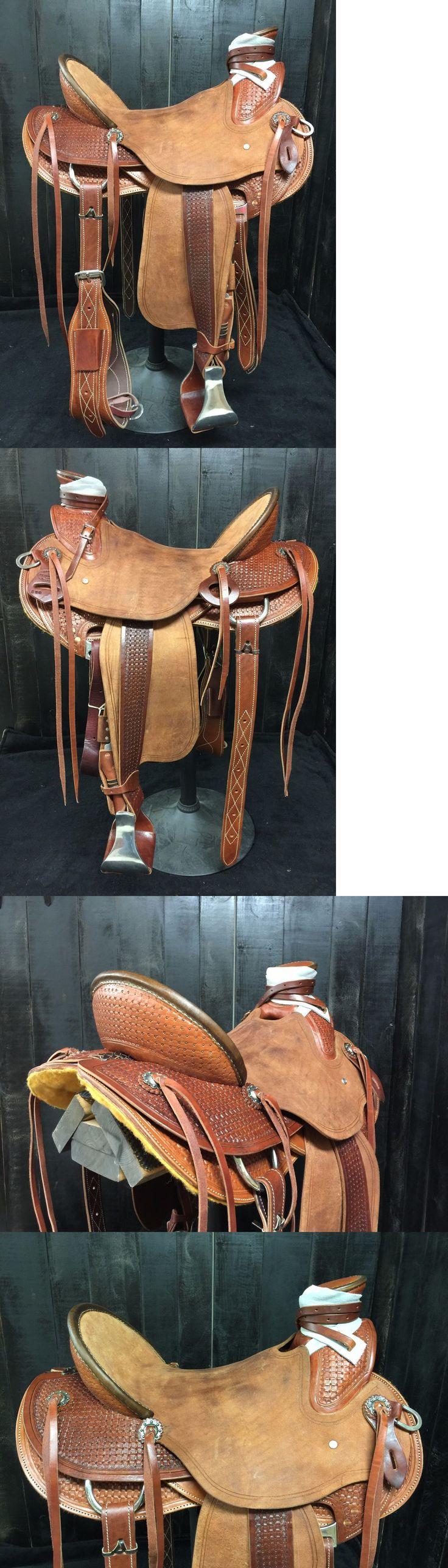 Saddles 47291: Custom Wade Saddle - Ranch Roping Training Trail Association -> BUY IT NOW ONLY: $1299.99 on eBay!