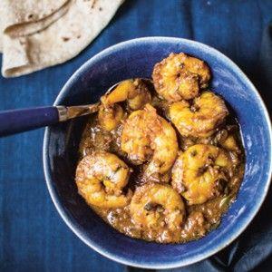 Rezept von Cyrus Todiwala: Garnelen in süssscharfer Sauce