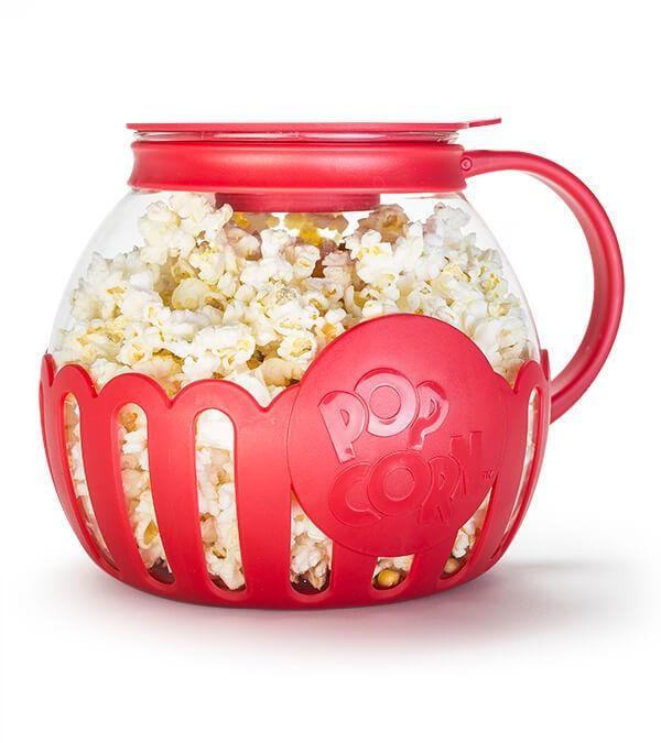 glass microwave popcorn maker