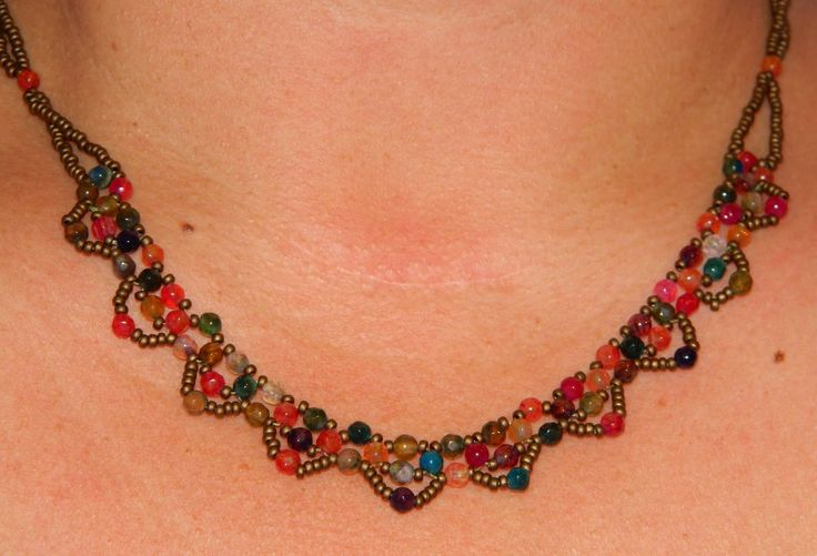 One Kiss Creations Beaded Jewelry: RAW...YAWN.