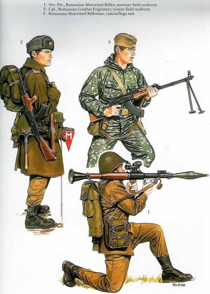 Romanian Army Cold War era