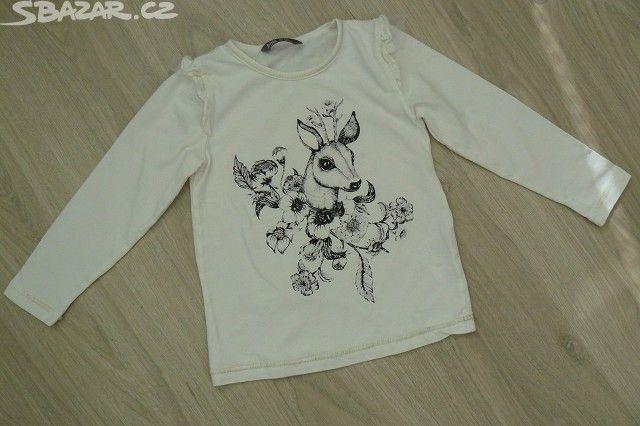 Nádherné dívčí triko LINDEX, velikost 104 - obrázek číslo 3