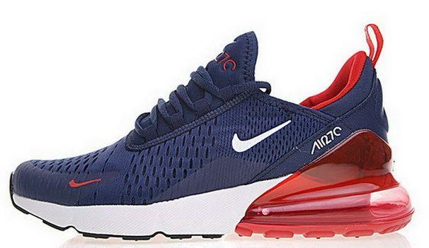 Nike Air Max 270 Bule Red Ah8050 416 Sneaker Ties Sneaker