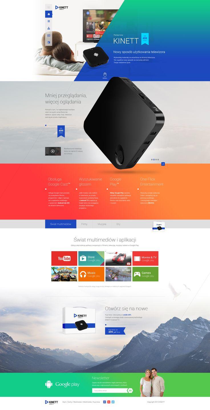 Kinett Webdesign #webdesign #web #design #piotr #wolniewicz #portfolio #inspiration #art #direction
