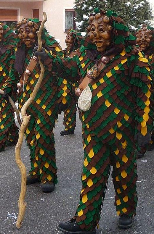 Fasching Parade Participants