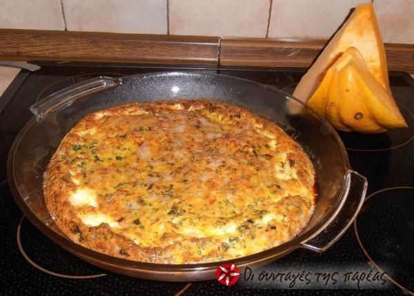 Φούρνος ή τηγάνι; Περί ορέξεως.. κολοκυθο-ομελέτα #sintagespareas