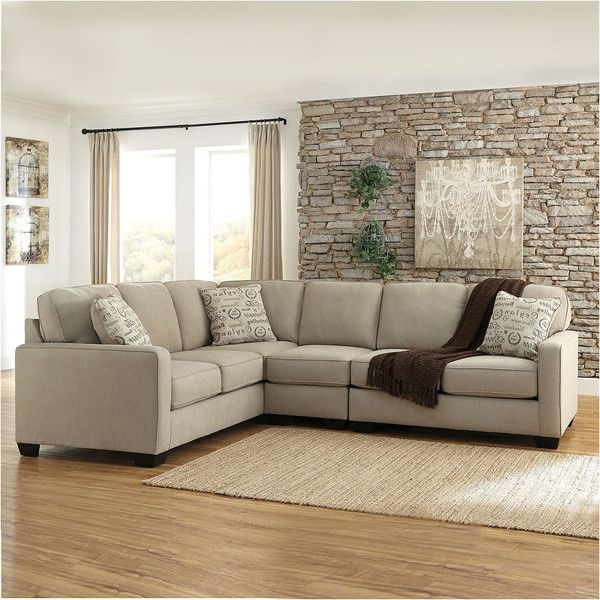 Ashley Furniture Alenya Sectional In Quartz