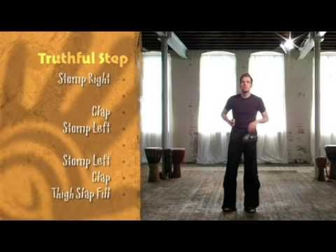 Body Percussion - Free African Body Percussion Lesson by Tribal Groove - YouTube