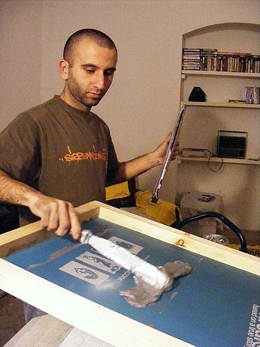 Start Up Information for a Screen Printing Business