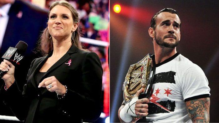Stephanie McMahon burns Chicago crowd