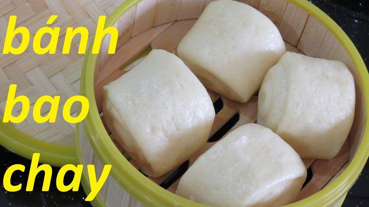 Bánh Bao chay Булочки на пару китайская вьетнамская кухня dạy làm bánh D...